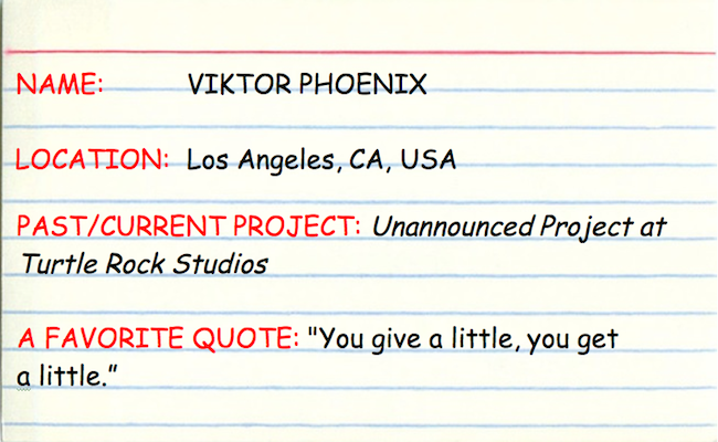 3x5 Interview with Viktor Phoenix at creatingsound.com